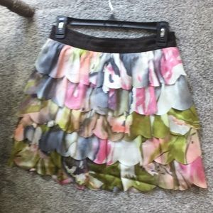 Adorable layered ruffle skirt from Forever 21 XS